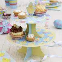 Easter Chick Cake Stand